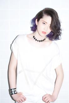 ウェットに仕上げてこなれた女子にイメージチェンジ☆|snob AnBlickのヘアスタイル