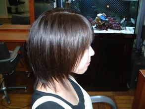 スタイリング剤を使わないでも束感でます♪|美容室 MARIN のヘアスタイル