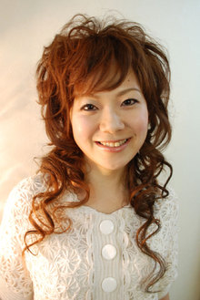 ミクスチャーなSONORA?オリジナル巻き髪です。|an=nui SONO+RA?のヘアスタイル