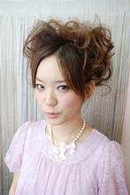 結婚式の2次会にもオススメ!|an=nui SONO+RA?のヘアスタイル