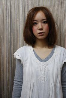 飾らないナチュラルライン|an=nui SONO+RA?のヘアスタイル