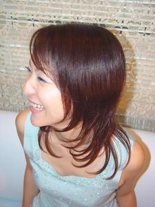 小顔に見せる効果あり!|an=nui SONO+RA?のヘアスタイル