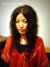 スパイラルパーマ/アジアンスパイラルウェーブ|daikanyama SOUのヘアスタイル
