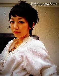 漆黒カラー/ショートスタイル|daikanyama SOUのヘアスタイル