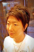 遊び心のあるナチュラル感|daikanyama SOUのメンズヘアスタイル