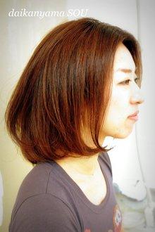 グラマラスボブ|daikanyama SOUのヘアスタイル