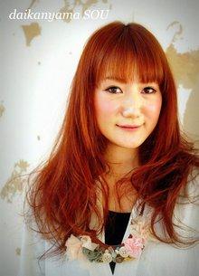 フェミニン/ガールズカール|daikanyama SOUのヘアスタイル