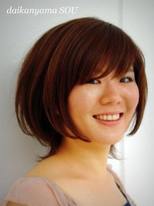 マッシュ感グラデーション/ミディアムスタイル|daikanyama SOUのヘアスタイル