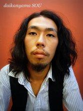 黒髪に無造作パーマがお洒落|daikanyama SOUのメンズヘアスタイル