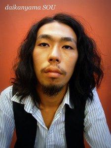 黒髪に無造作パーマがお洒落|daikanyama SOUのヘアスタイル