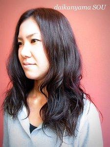 オトナウェーブで女性らしさを演出|daikanyama SOUのヘアスタイル