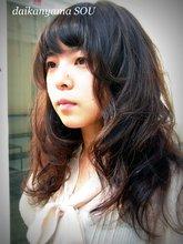 絶妙カラーとカールで大人のロマンチックスタイル|daikanyama SOUのヘアスタイル