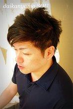 洗練された雰囲気を感じるオトナショート|daikanyama SOUのメンズヘアスタイル