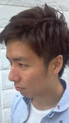 男の定番スタイルの1つアシンメトリー|daikanyama SOU 関 倖壱のメンズヘアスタイル