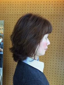 ナチュラルミディアム|STUDIO ASK 八戸ノ里店のヘアスタイル
