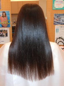 ASKの抗酸化縮毛矯正|STUDIO ASK 八戸ノ里店のヘアスタイル
