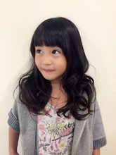 A/Wは少し前髪重ため〜|Horide  西武高槻店のキッズヘアスタイル