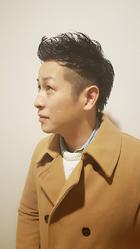 サイの角みたいな|Horide  高槻阪急店のメンズヘアスタイル