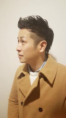 サイの角みたいな|Horide  高槻阪急店のヘアスタイル