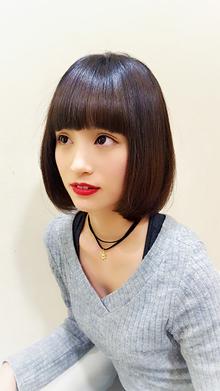 ボブ|Horide  高槻阪急店のヘアスタイル
