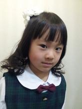 入学式ヘア|Horide  西武高槻店のキッズヘアスタイル