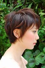 可愛らしさが際立つショートボブ|Tashaのヘアスタイル