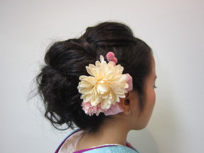 しっとり、華やかに。。。|トシちゃんの美容室のヘアスタイル