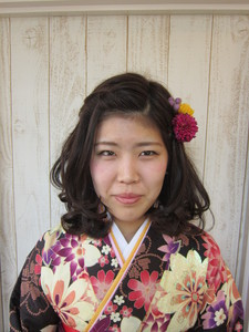 ゆるふわボブ★カール編み込みスタイル|トシちゃんの美容室のヘアスタイル