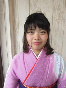 編み込みハーフアップ☆ トシちゃんの美容室のヘアスタイル