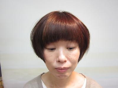 小顔を生かしたショートマッシュ|トシちゃんの美容室のヘアスタイル