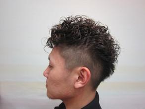 さわやかワイルド|トシちゃんの美容室のヘアスタイル