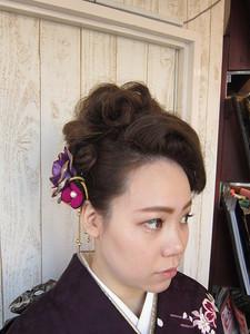 粋に大人っぽく。。あでやかに。。。|トシちゃんの美容室のヘアスタイル
