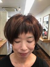 ☆冬の大人ショート☆ トシちゃんの美容室のヘアスタイル