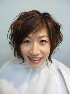 かっこ可愛い大人ショート♪|トシちゃんの美容室のヘアスタイル