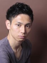 メンズカジュアル「堅実×カール」|_TREEのメンズヘアスタイル