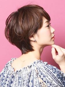 大人のショート「ボニータ×リンダ」【表参道】七浦|_TREEのヘアスタイル