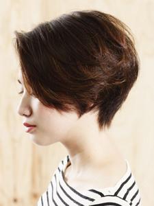 大人ショートボブ「ルース×抜け感」|_TREEのヘアスタイル