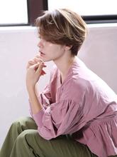 大人ショートボブ「ソレイユ×抜け感」|_TREEのヘアスタイル