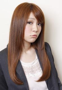 2013春「ナチュラル×艶ストレート」ロング _TREEのヘアスタイル