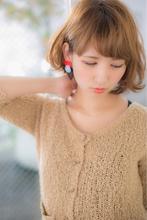 ノスタルジーボブ Euphoria【ユーフォリア】 aoyama【アオヤマ】 しおんのヘアスタイル