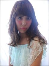 ◆大人ガーリー◆ゆるふわミディ|Velvet on the Beachのヘアスタイル