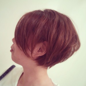 クセ毛風ボブ★|verde brancoのヘアスタイル