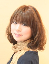 パーマの動きで重軽スタイルが思いのまま☆|hair make vis-a-vis のヘアスタイル