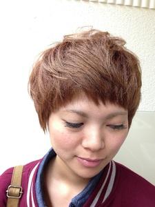 キュートな似合わせボブ|HAIR MAKE WASHAW 芦屋店のヘアスタイル