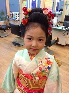 七五三|HAIR MAKE WASHAW 芦屋店のヘアスタイル