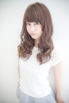 ウケ抜群!!な甘めのカールスタイル♪|HAIR MAKE WASHAW 芦屋店のヘアスタイル