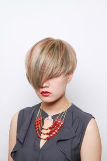 カラーリングでモードな雰囲気に!|HAIR MAKE WASHAW 芦屋店のヘアスタイル