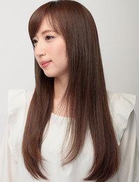 """熱変性させない。 ヨーロッパと日本で特許を取得した、 """"髪温度40℃台〜""""の縮毛矯正 で サラサラなやさしい毎日。"""