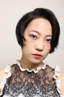 黒髪short|Y.S.PARK  ROPPONGIのヘアスタイル