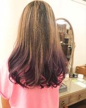 紫グラデーション|Y.S.PARK  ROPPONGIのヘアスタイル